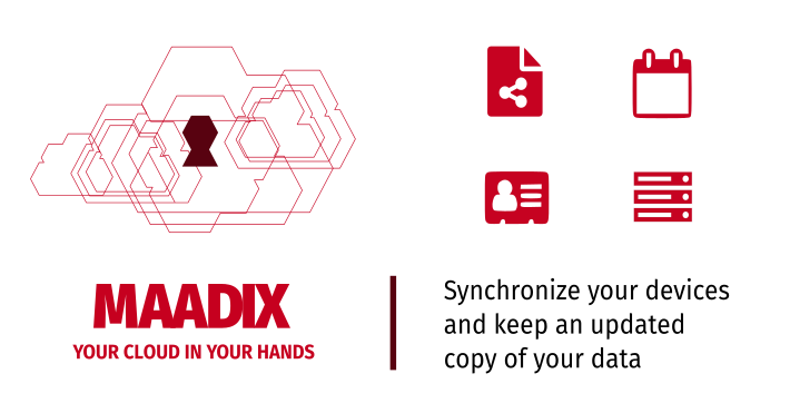 Syncronize devices with Maadix