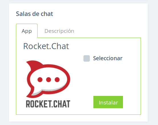 RockeChat automatic installation
